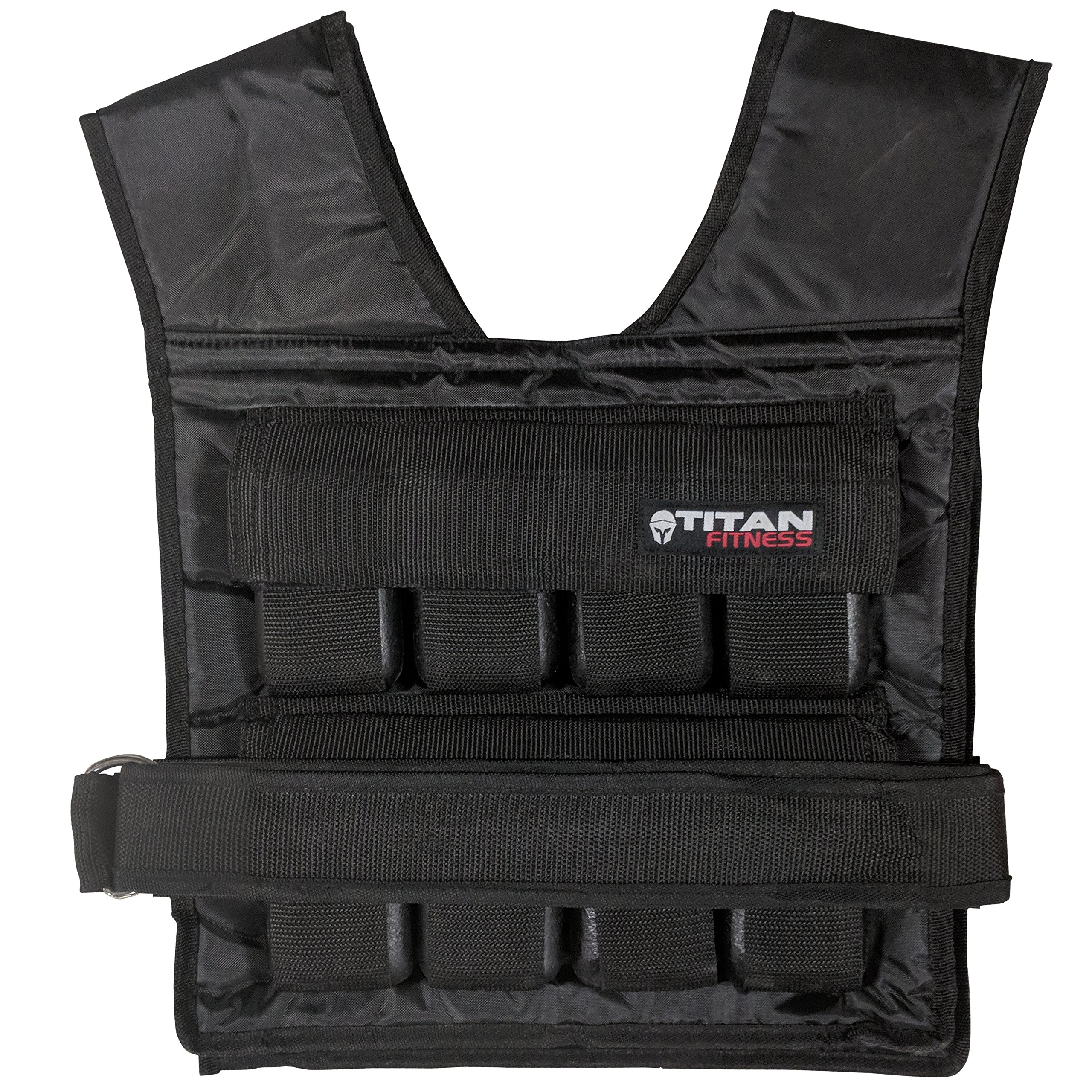 Titan Adjustable Weighted Vest 40 LB