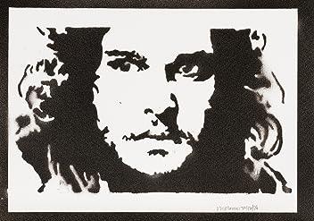 Jon Snow Game Of Thrones Poster Handmade Graffiti Sreet Art - Artwork