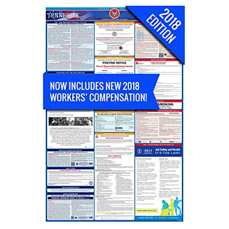 Amazon.com : 2018 Tennessee Labor Law Poster - State & Federal ...