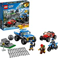 LEGO Juego de Construcción City Police Caza en la Terracería (60172)