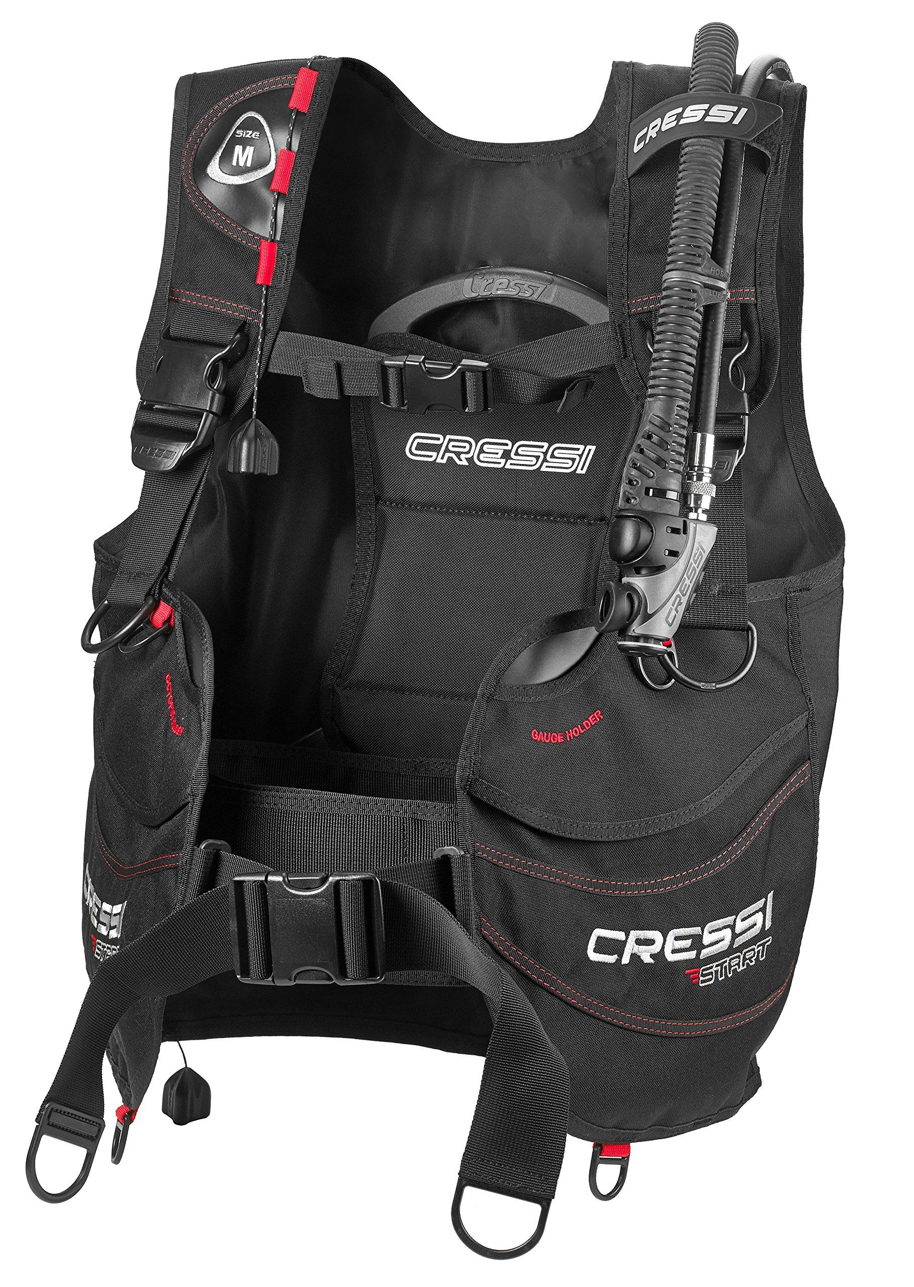 Cressi Start, Black/red, XL