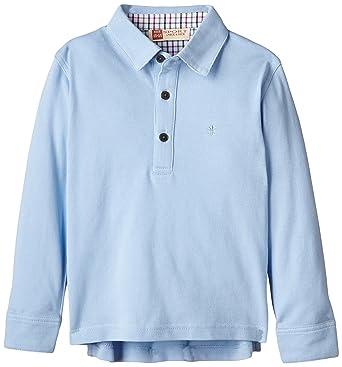 neck & neck Sport, Polo para Niños, Light Blue/Azul Claro 21 2A ...