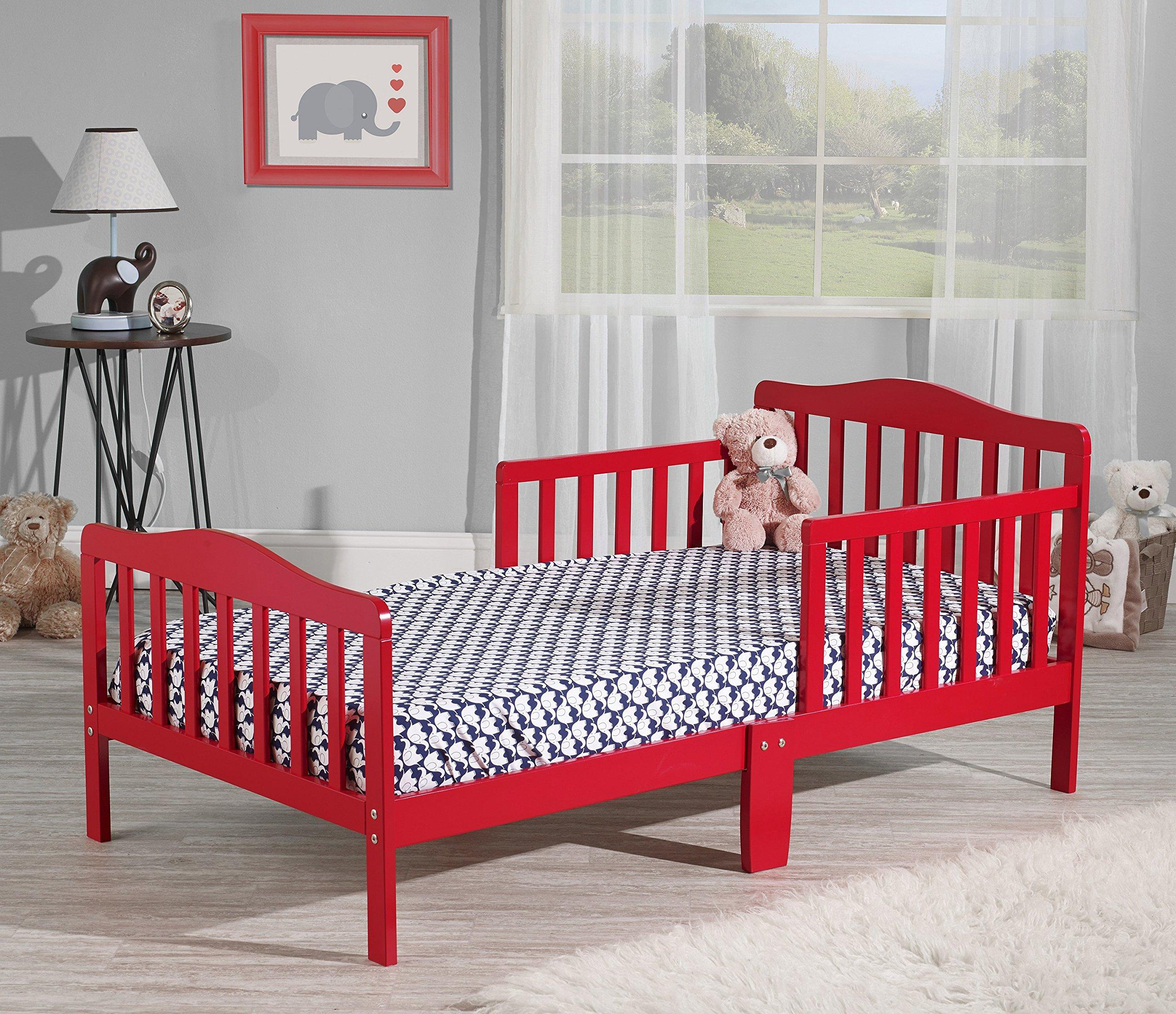 Orbelle Toddler Bed, 3-6T, Red