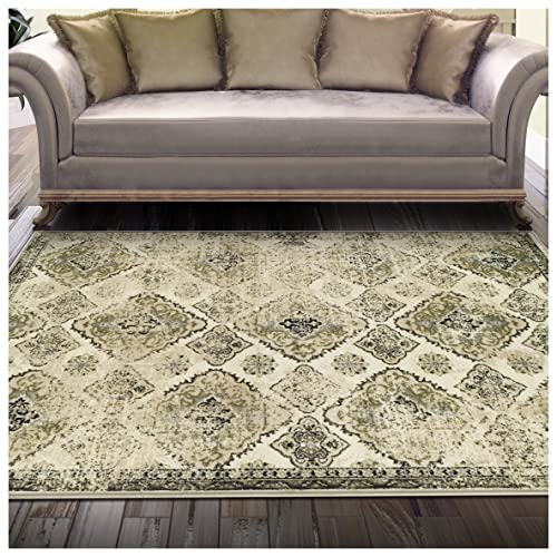 Natural Area Rugs 100 , Natural Fiber Handmade Alma, Sisal Rug, 2 x 3 Black Border