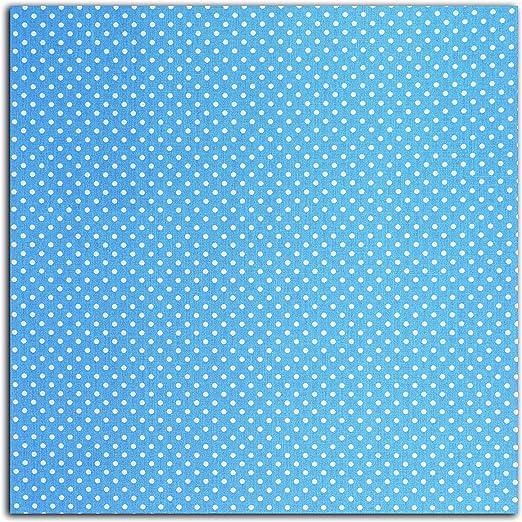 Dailylike lke07 – Retal de Tela algodón plastificado Azul 45 x 53 ...