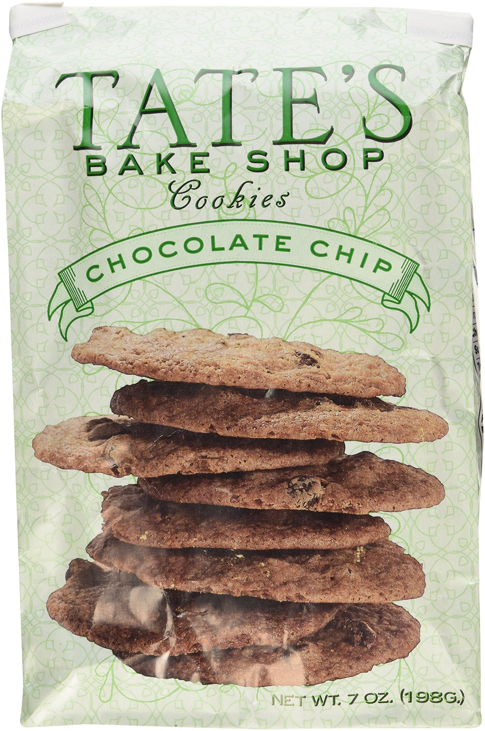 Tate's Bake Shop Chocolate Chip Cookies, 7oz Bag, Pack of 3 by Tate's Bake Shop
