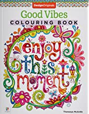 Good Vibes Colouring Book