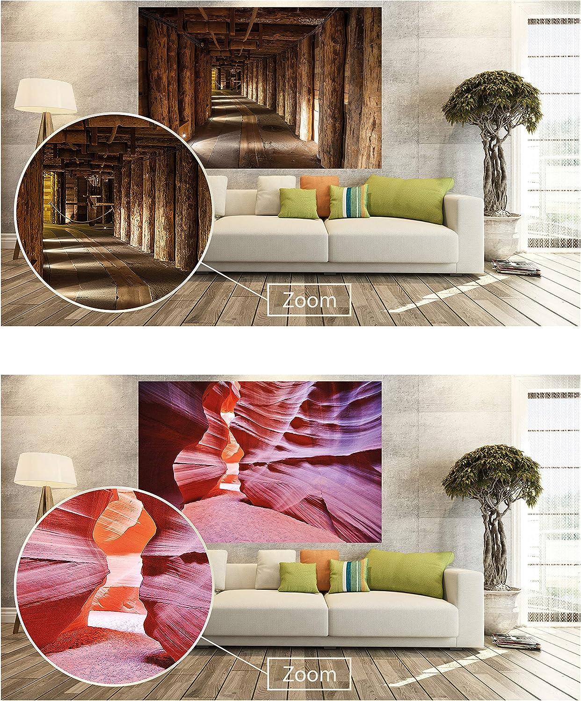 140 x 100 cm GREAT ART Juego de 2 carteles XXL vista al mar y a la playa Decoraci/ón de Pared sensaci/ón de vacaciones set Foto Mural Foto-Poster de Pared
