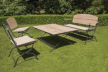 Chalet et jardin 8934951106769 Australia Salon DE Jardin en ROBINIER ...