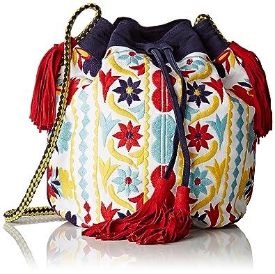 023602b561 Antik Batik femme Bundi Sac porté épaule Multicolore (Multico ...