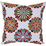 Bridgeso Throw Pillow Cover Brilliantly Colored