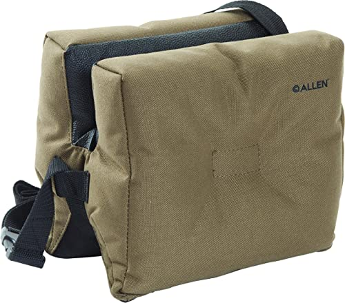 Allen Filled Bench Shooting Bag, Brown