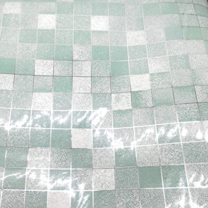 1M Tiles Stickers  PVC Waterproof Self-adhesive Wallpaper Kitchen Bathroom Home