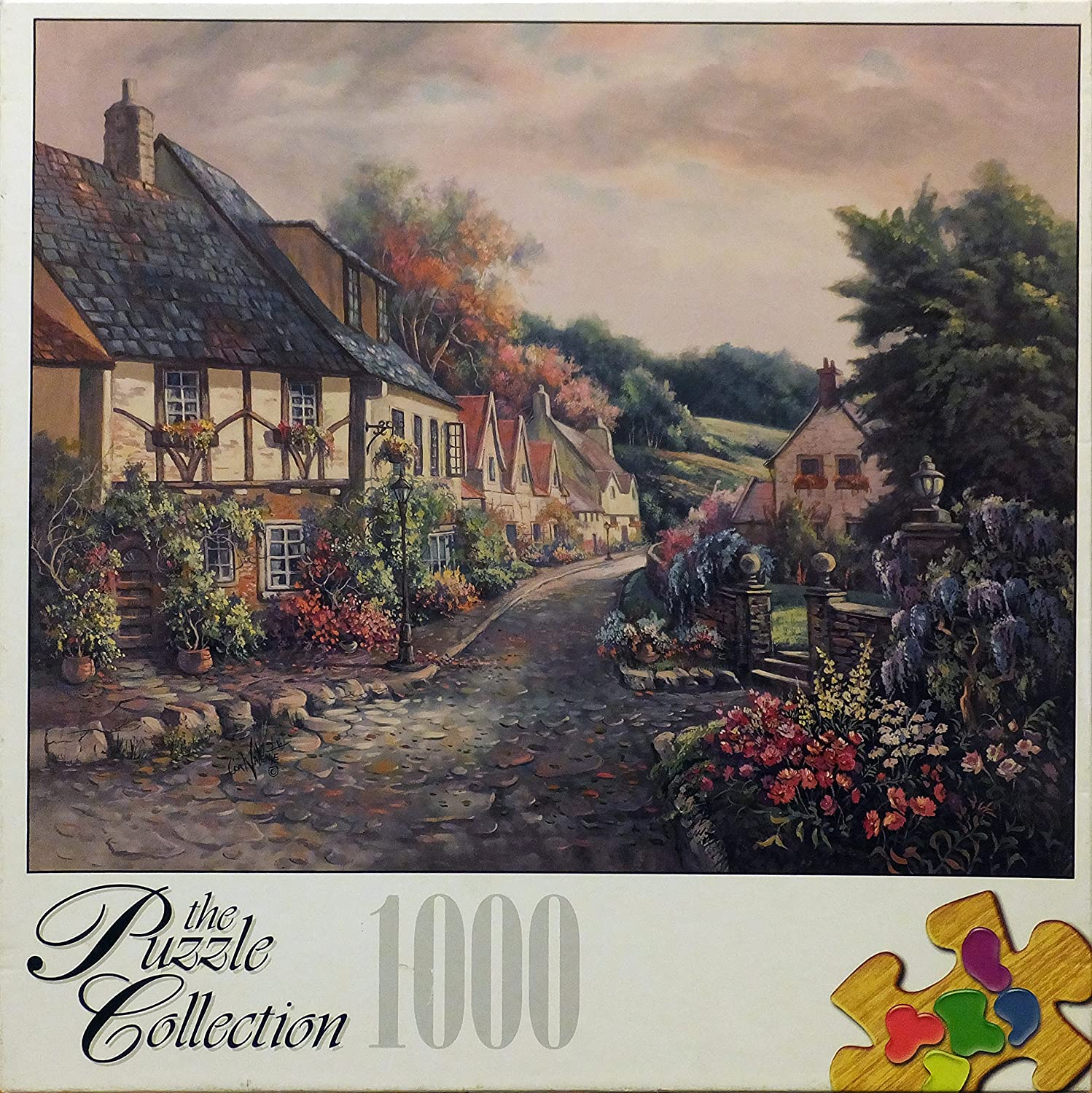 The Puzzle Collection 1000 Piece Puzzle 18 15//16 X 26 3//4 Castlecombe