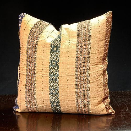 Amazon Tribal Fabric Throw Pillow Decorative Pillow Stunning Fabric For Decorative Pillows