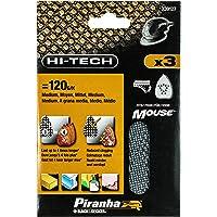 Black+Decker X39127-XJ Multilevigatrice Velcro, 3 Fogli, gr, Mouse