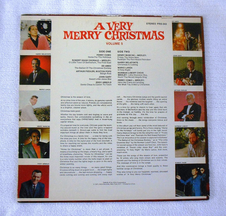 Various Artists - A Very Merry Christmas - Volume 5 - Amazon.com Music