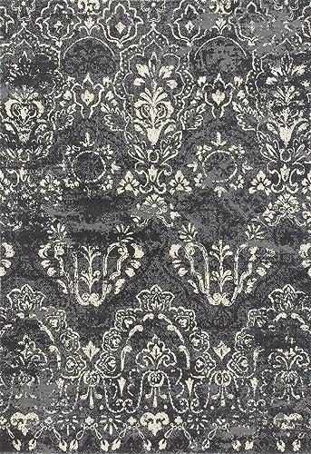 Art Carpet Bastille Collection Emerge Woven Area Rug, 4 x 6 , Gray Linen