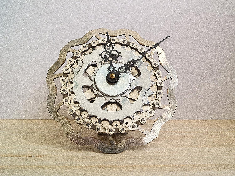 Elegant Upcycling Fahrrad Ideen Von Design Uhr Flower / Bike Clock /