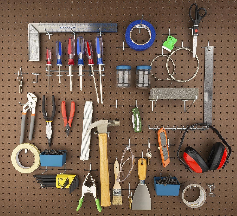 Stanley Hardware 819841 Pegboard Hook Assortment 51-Piece