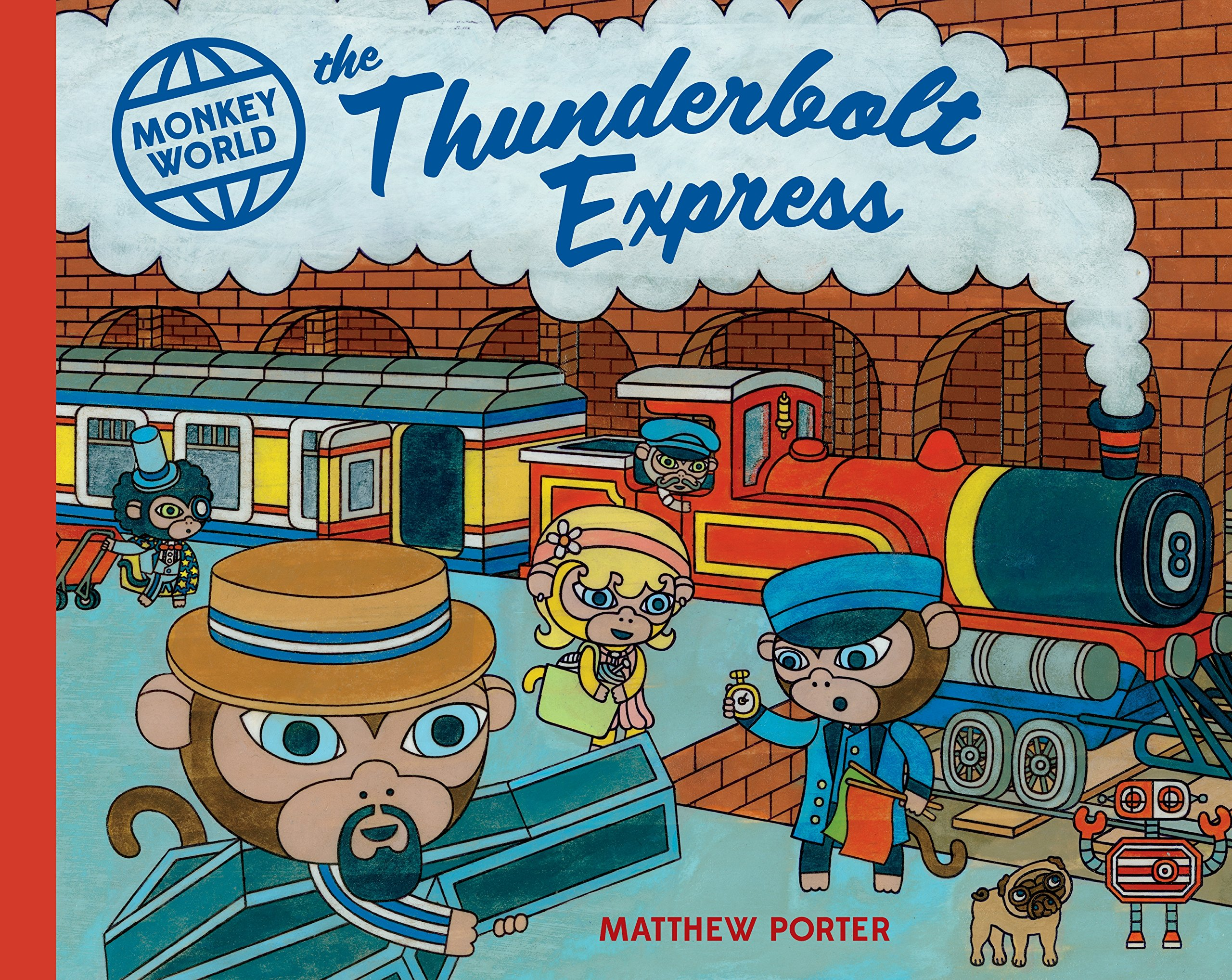 The Thunderbolt Express (Monkey World): Amazon.es: Porter, Matthew ...
