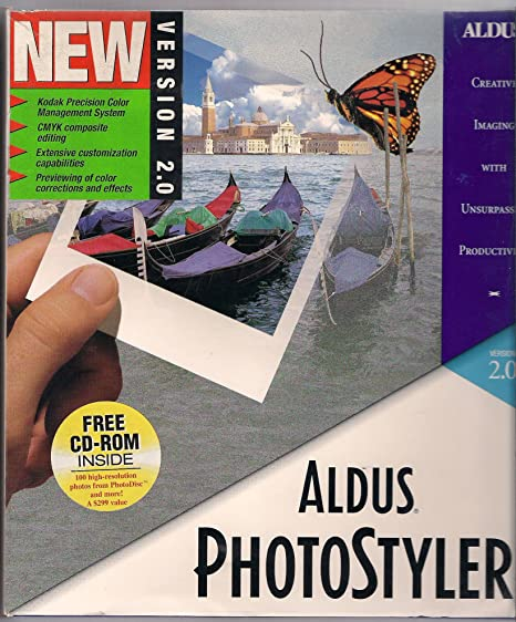 aldus photostyler 2.0
