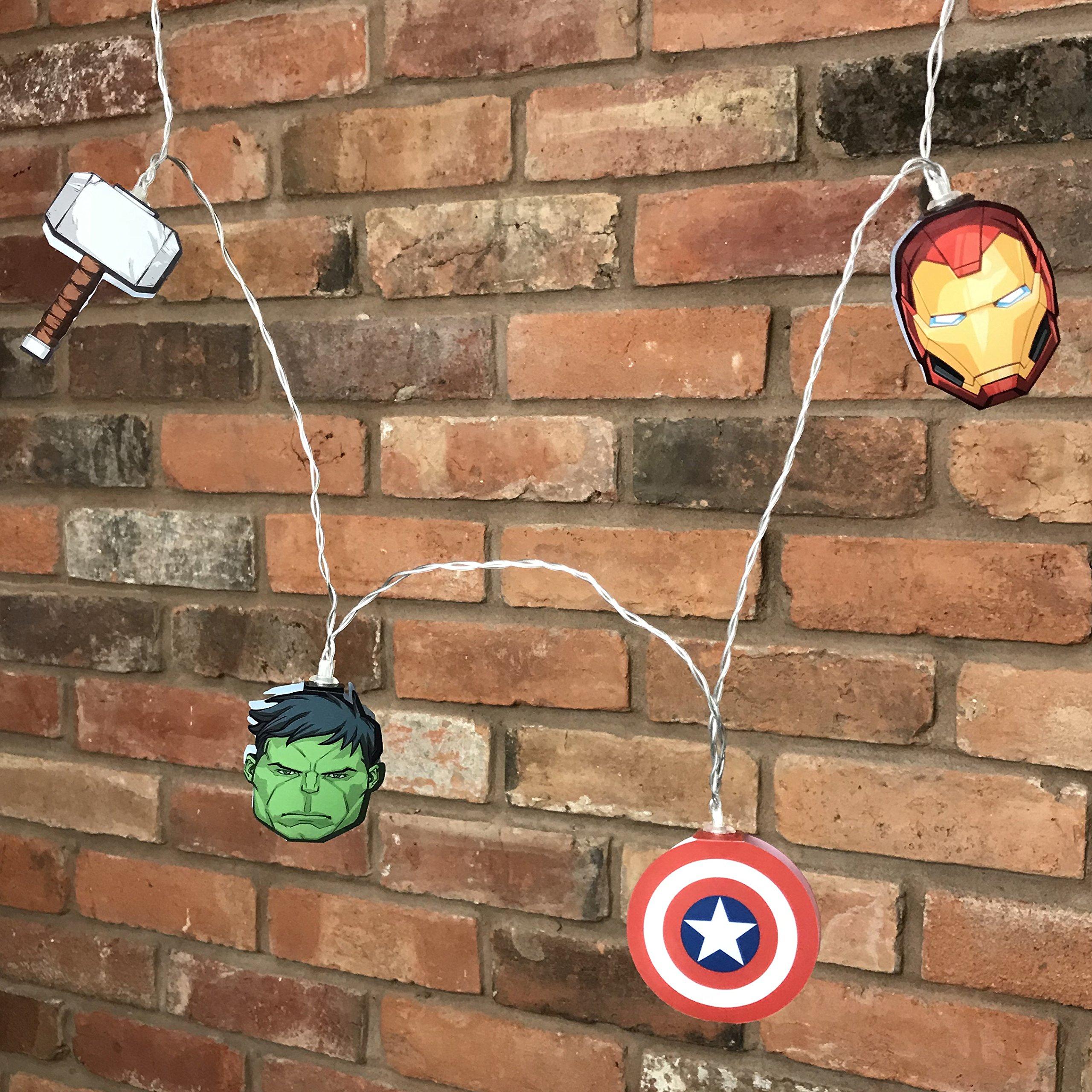 Groovy Uk Marvel Avengers String Lights