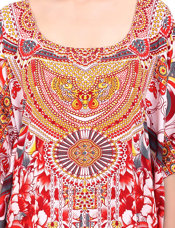 Ropa de Dormir Estiloso e Atractivo Kimono K131 Miss Lavish London Kaftan Sayo M/últiple Tama/ños Incluyendo M/ás tama/ño Playa Cubrir para Arriba Maxi Vestido