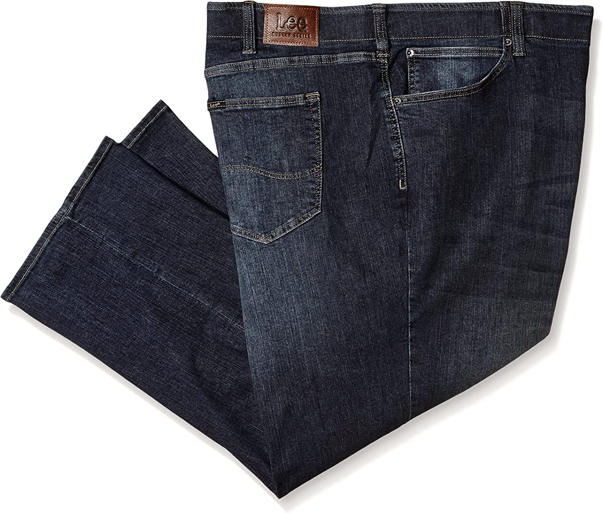 Mens Big & Tall Modern Series Extreme Motion Relaxed Fit Jean