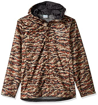 2019599f752ba Columbia Men's Big and Tall Watertight Printed Jacket, Rustic Brown Camo,  Large/Tall