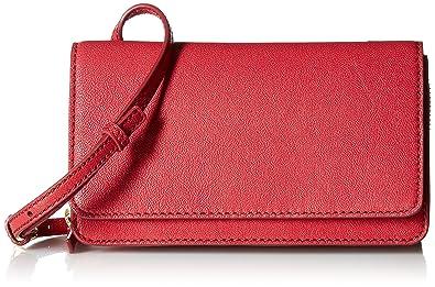 f466d9040 Fossil Women's BRYNN MINI BAG, Red Velvet, One Size: Handbags ...