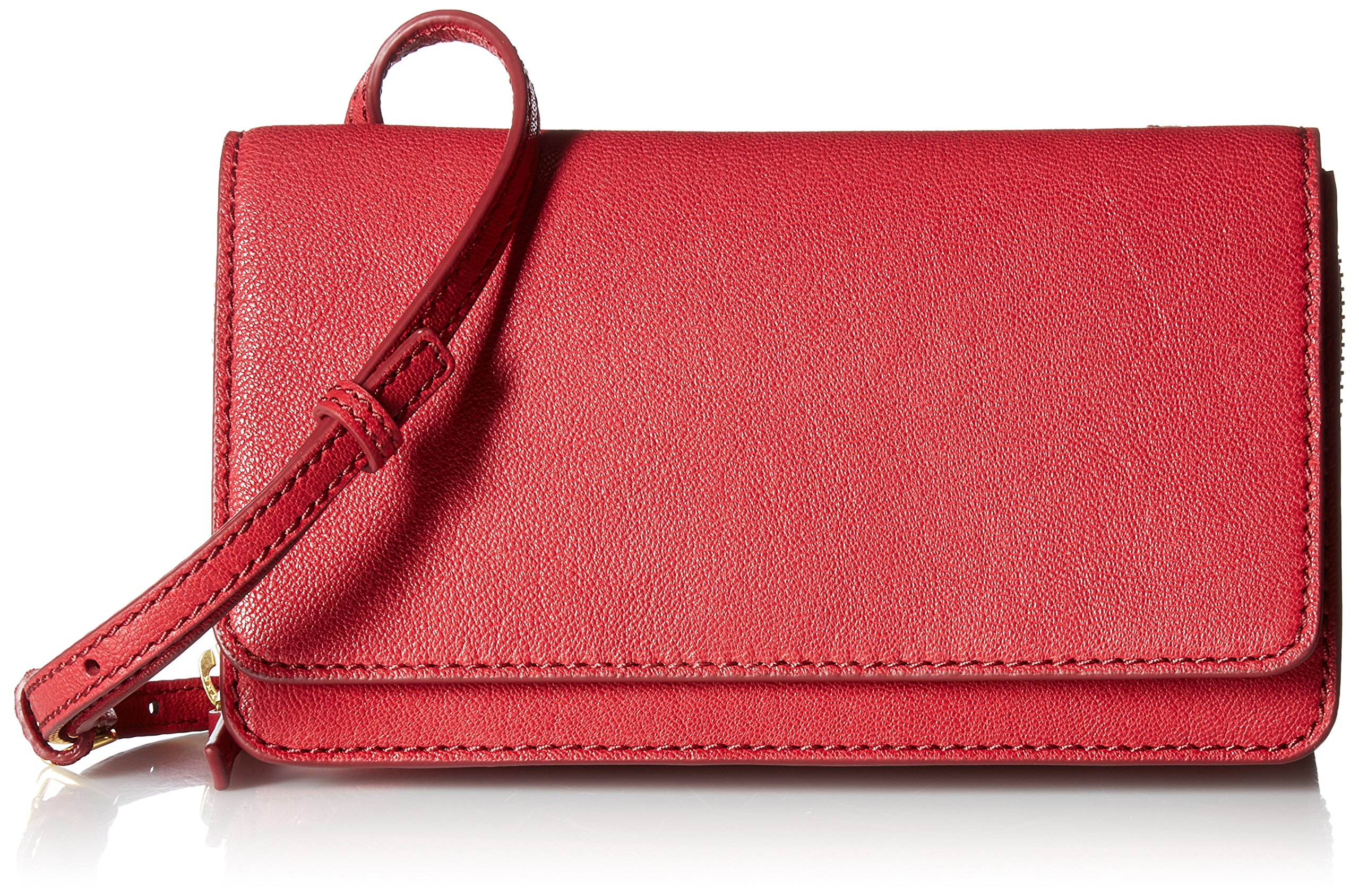 Fossil Women's Brynn Mini Bag, Red Velvet, One Size by Fossil