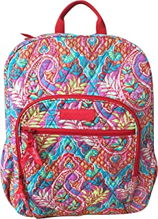1fb6d0885 Vera Bradley Campus Backpack with Solid Color Interior (Updated Version)  (Paisley in Paradise