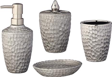 printable vinyl pic Elephant soap jar ivory jar with plastic silver dispenser