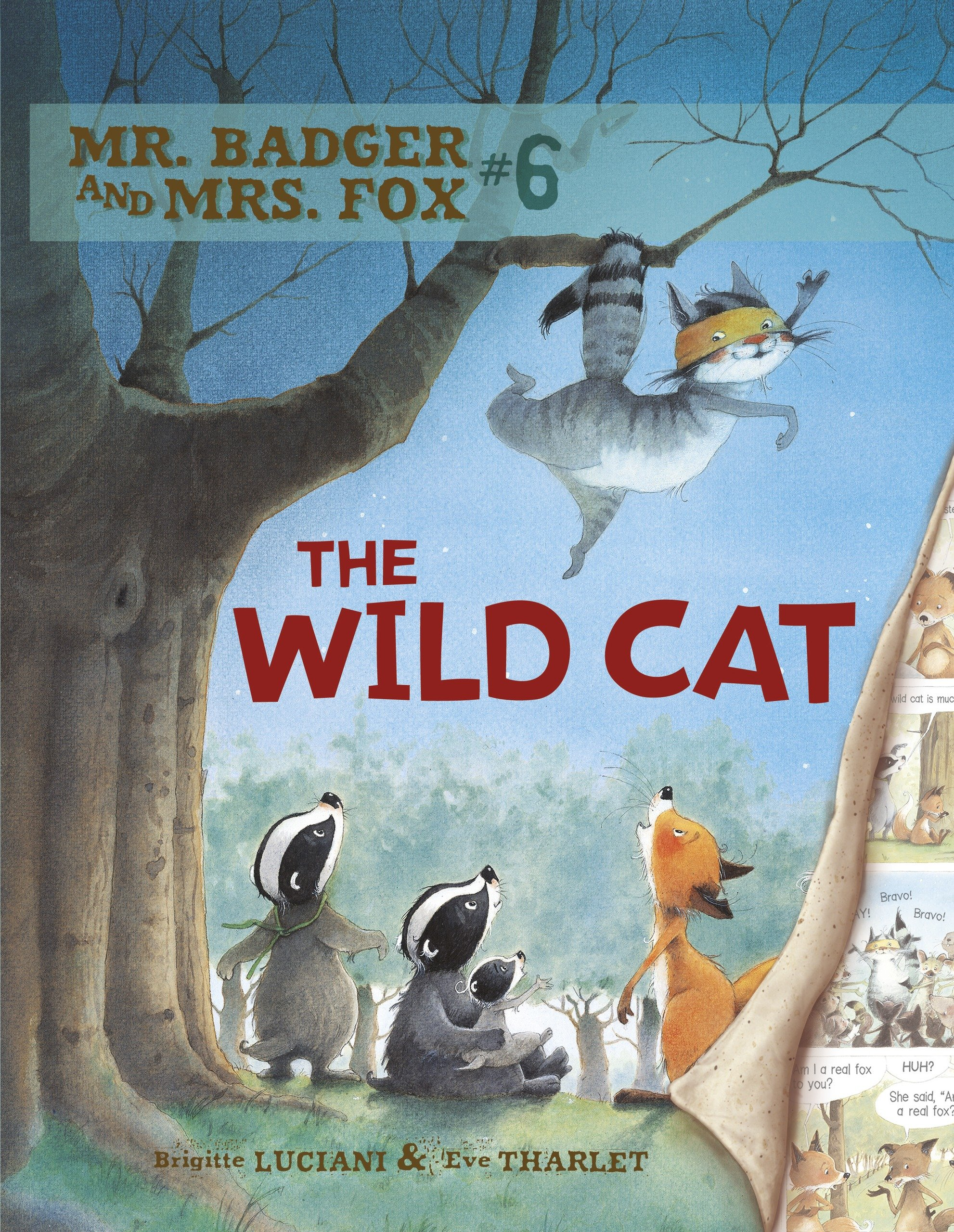 Mr. Badger and Mrs. Fox 6: The Wild Cat pdf