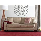 "Serta Deep Seating Palisades 78"" Sofa in Essex Beige"