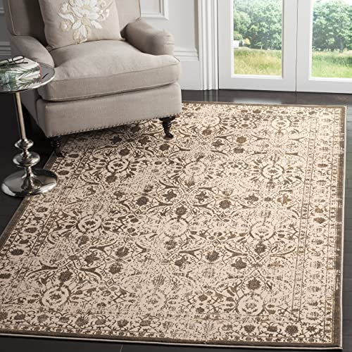 Safavieh Brilliance Collection BRL502D Cream and Bronze Area Rug 8' x 10'