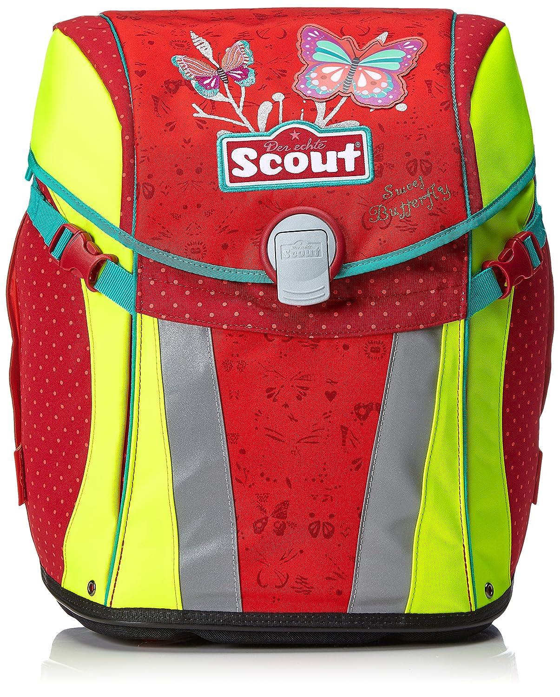 Scout - Sunny - Schulranzen Set 5 tlg. tlg. 5 - Sweet Butterfly, Rot b4ca44