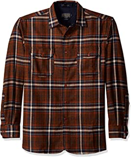 f386c79c Pendleton Men's Long Sleeve Fitted Buckley Shirt at Amazon Men's ...