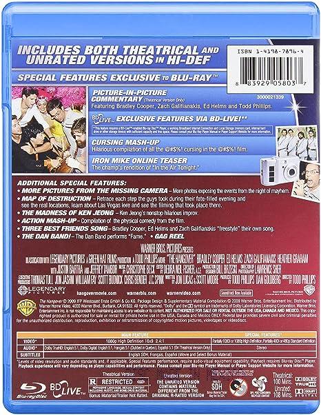 Amazon Hangover Blu Ray Movies TV