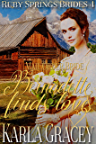 Mail Order Bride - Bernadette Finds Love: Sweet Clean Historical Western Mail Order Bride Inspirational Romance (Ruby Springs Brides Book 4)