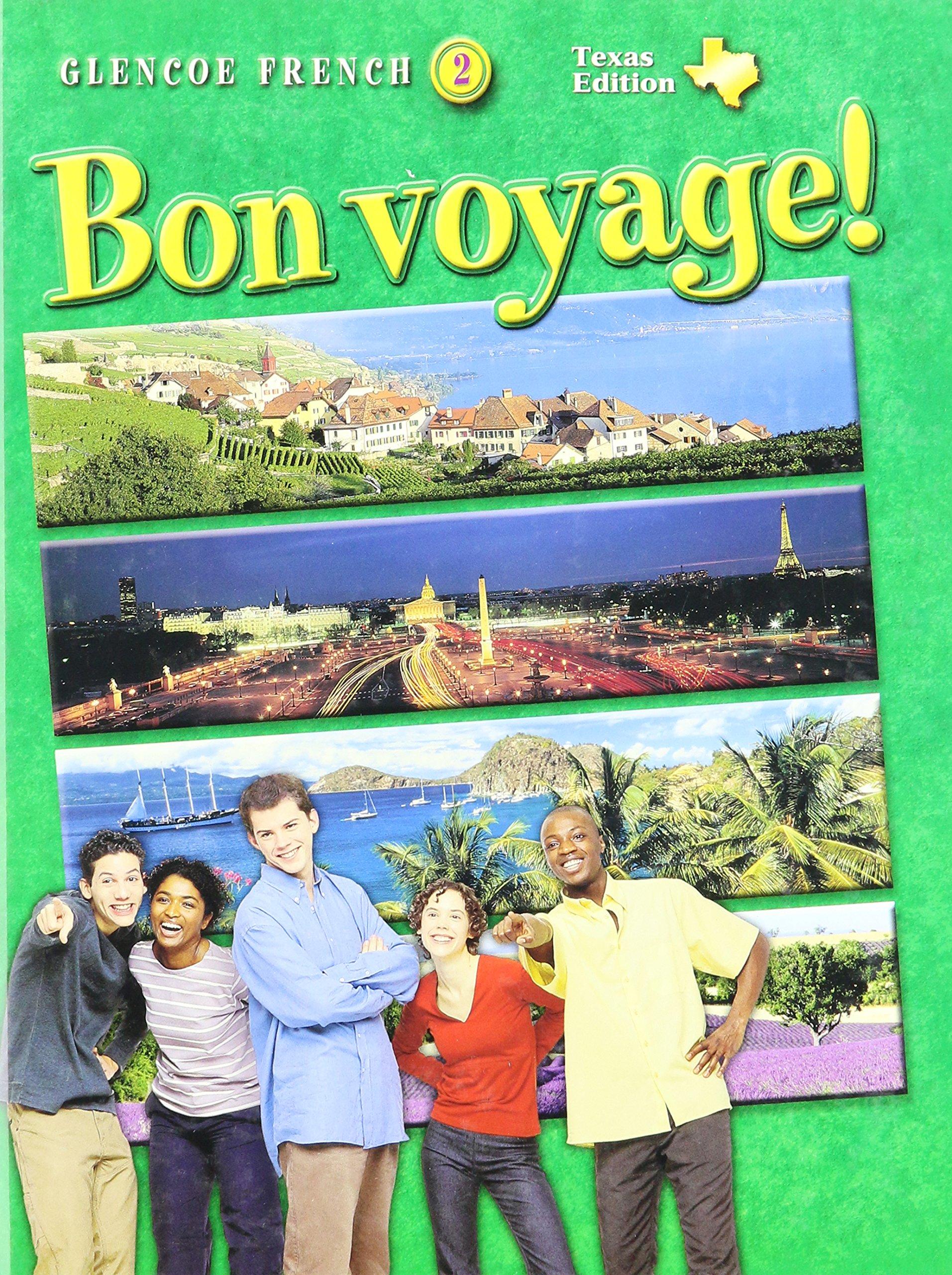 Amazon bon voyage texas edition glencoe french level 2 texas edition glencoe french level 2 english and french edition 9780078667459 conrad j schmitt katia brillie lutz books fandeluxe Images