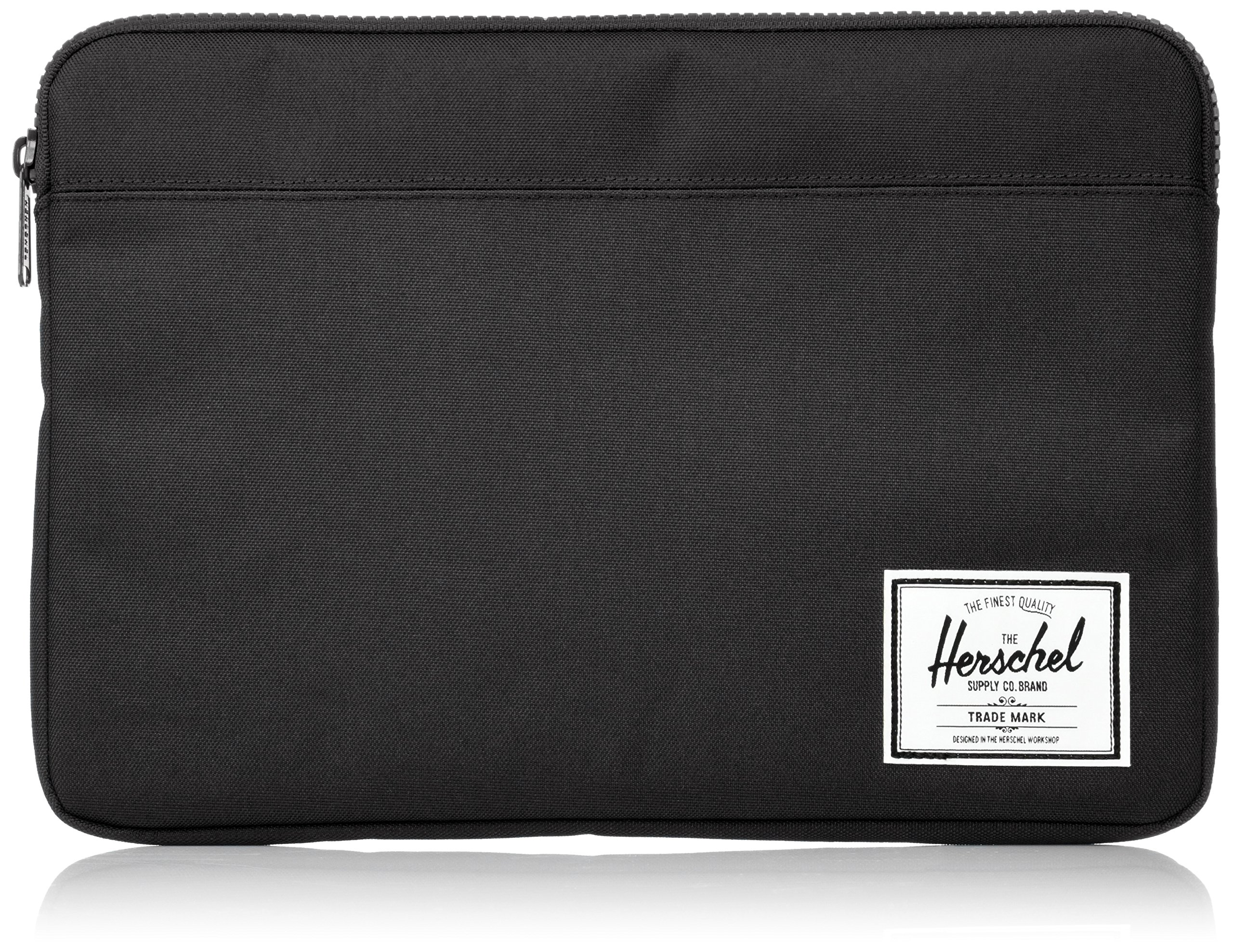 Herschel Supply Co. Unisex-Adult's Anchor Sleeve for 13 Inch MacBook, black, One Size