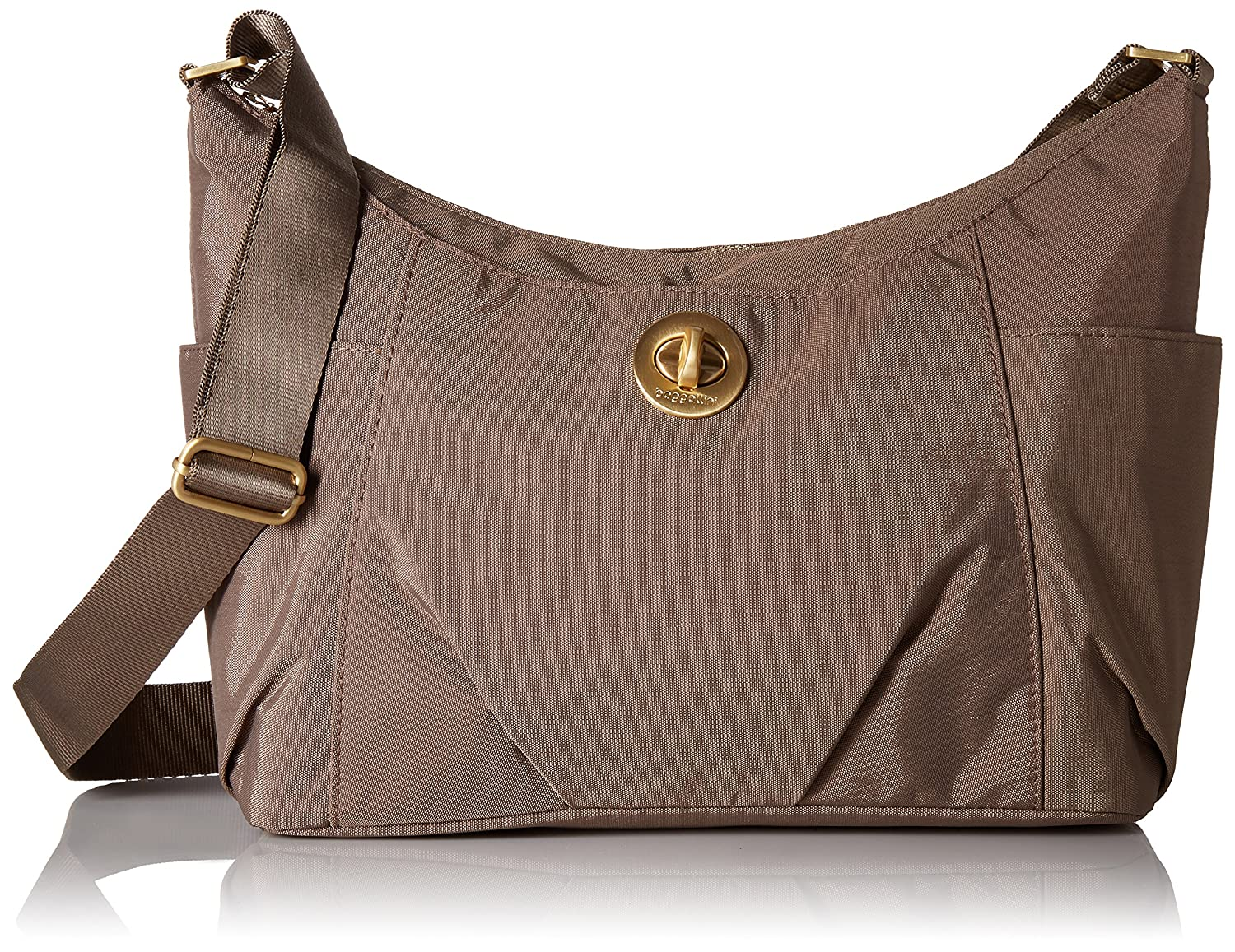 Baggallini Bahia Hobo Bag Adobe FAT17 BAH172