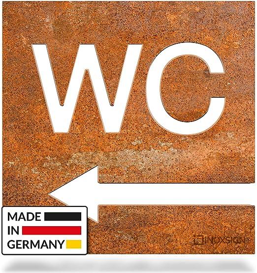 inoxsign Vintage - cartel indicador de flecha de dirección ...