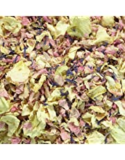 1 Litre Natural Petal Confetti - Biodegradable - Many Colour, Type and Mix Options Available