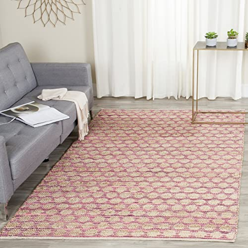 Safavieh Reflection Collection RFT664C Light Grey and Cream Area Rug 3 x 5