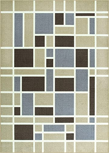 Maples Rugs 5 x 7 Non Slip Large Area Rugs Made