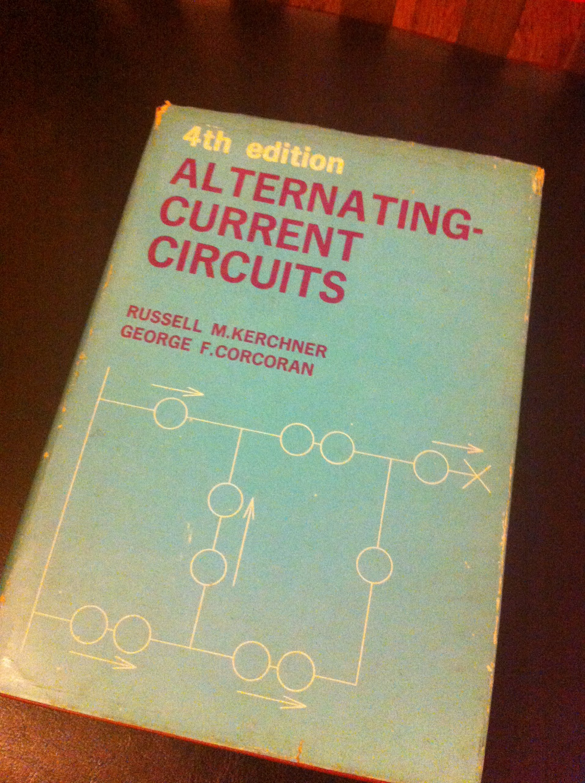 Alternating Current Circuits Russell M Ms And Corcoran George F Kerchner Books