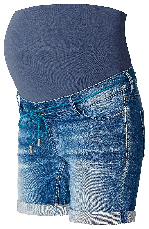 Noppies Umstandsmode Damen Umstandsshorts Jeans Zita